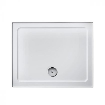 Ideal Standard Idealite low profile upstand shower tray 1200 x 760mm White | Commercial Washrooms