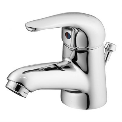 Opus single lever basin mixer with pop up waste | Commercial Washrooms