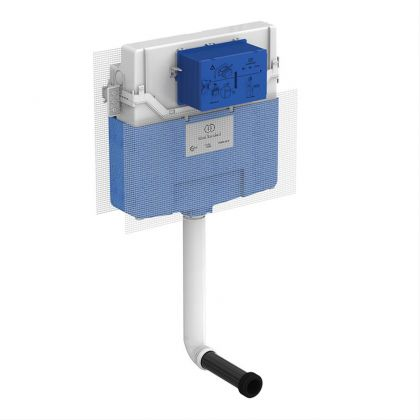 Ideal Standard Prosys 120mm Depth Pneumatic Flush Toilet Cistern with Front Actuation | Commercial Washrooms