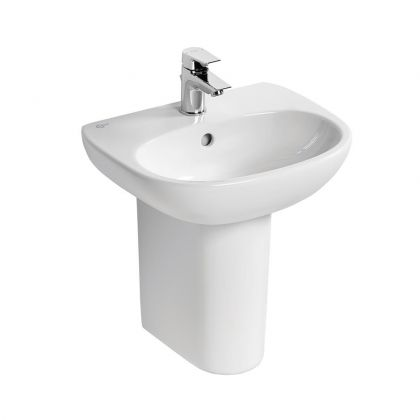 Ideal Standard Tesi 45cm Handrinse Washbasin 1 Taphole with Overflow   Commercial Washrooms