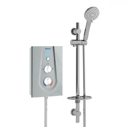 Bristan Joy Thermostatic Electric Shower (Silver)