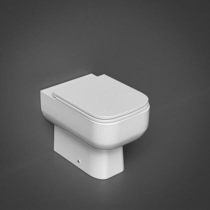 RAK-Series 600 Back to Wall Toilet with Soft Close Seat