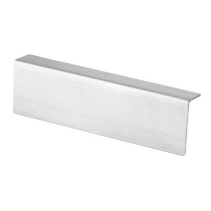 L-Channel Headrail - Satin Stainless Steel (3m)