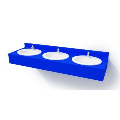 HPL Postformed Laminated Vanity Top (Inset Style)