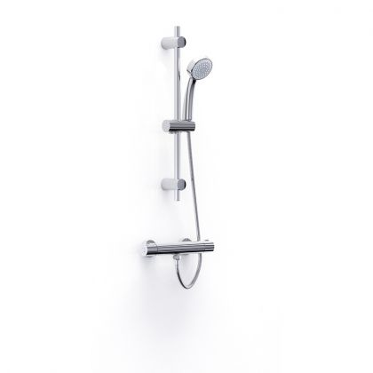 Inta Trade-Tec Thermostatic Bar Shower with Kit | Commercial Washrooms