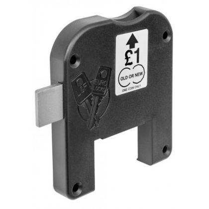 Lowe & Fletcher Dry Area Dual Pound Coin Locker Lock