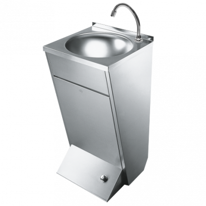 Franke Foot Operated Stainless Steel Wash Hand Basin