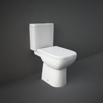 RAK Origin Close Coupled Toilet Pack with Cistern & Soft Close Seat