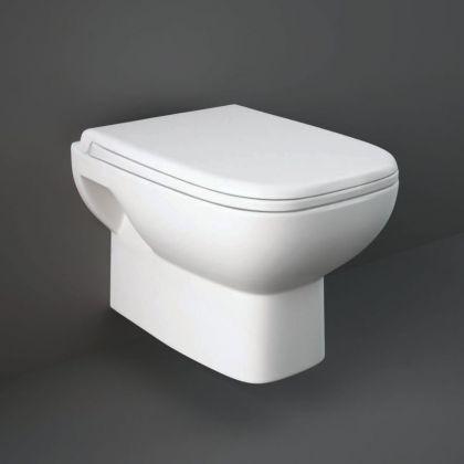 RAK-Origin Wall Hung Toilet With Soft Close Seat