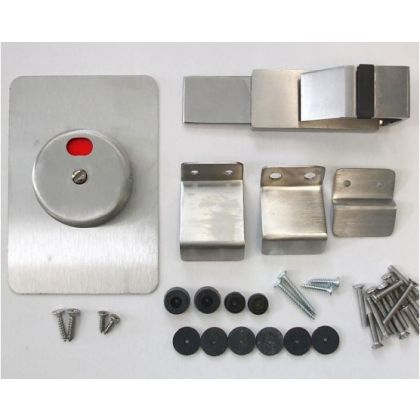 Stainless Steel Sliding Indicator Bolt with Cover Plate
