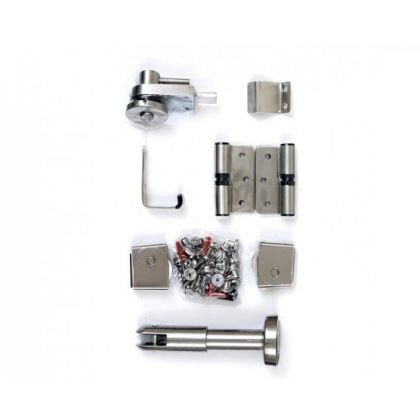 Stainless Steel Toilet Cubicle Hardware Pack