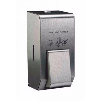 Brushed Stainless 400ml Toilet Seat Sanitiser