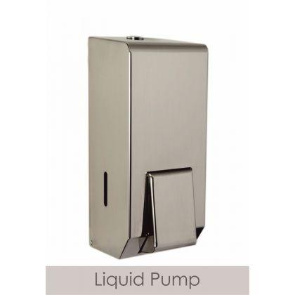 Polished Steel Refillable Soap Dispenser 900ml