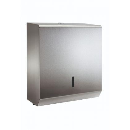 Polished C-Fold/Multi-Fold Hand Towel Dispenser