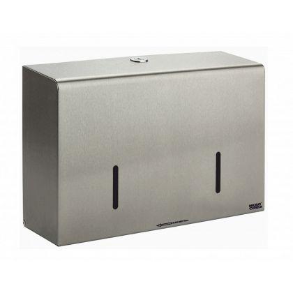 Stainless Steel MicroCube Twin Micro Jumbo Dispenser