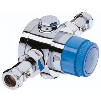 Bristan Gummers 28mm Group Shower Thermostatic Mixing Valve | Commercial Washrooms