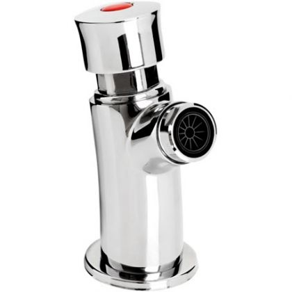 Z2 BIB C: Single Soft Touch Timed Flow Bib Tap (with flow regulator) | Commercial Washrooms