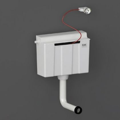 RAK-Ecofix Concealed Furniture Cistern with Cable Operated Push Button - Side Inlet | Commercial Washrooms