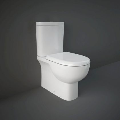 RAK-Tonique Close Coupled Pan with Cistern and Soft Close Seat | Commercial Washrooms