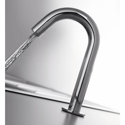 RAK-Compact Commercial Tall Curved Deck Mounted Infra-Red Tap