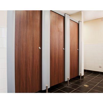Replacement Toilet Cubicle Doors - MFC, Plain