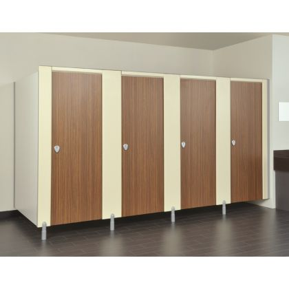 Replacement Toilet Cubicle Partitions (MFC / HPL / SGL)
