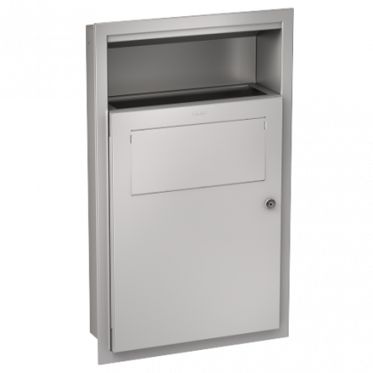 Franke Recessed Wall Mounted Sanitary Towel and Disposal Bin
