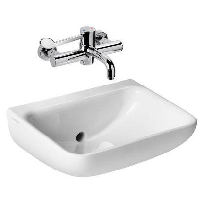 Armitage Shanks HBN 00-10 HTM64 (LB H M) Contour 21+ 50cm Back Outlet Washbasin