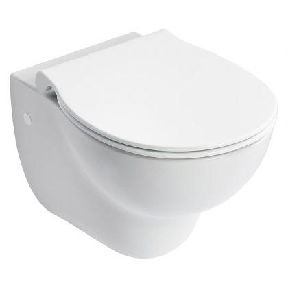 Armitage Shanks Contour 21+ Wall Mounted Rimless Toilet Pan