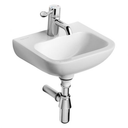 Armitage Shanks Contour 21 (37cm) Wall Hung Wash Hand Basin - Central tap hole