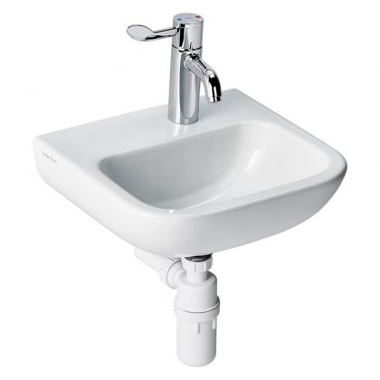 Armitage Shanks HTM64 Portman 21 40cm Washbasin - 1 RHand tap hole no overflow, no chainstay hole