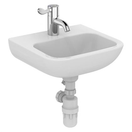 Armitage Shanks HTM64 Portman 21 40cm Washbasin - 1 RHand tap hole no overflow, no chainstay hole