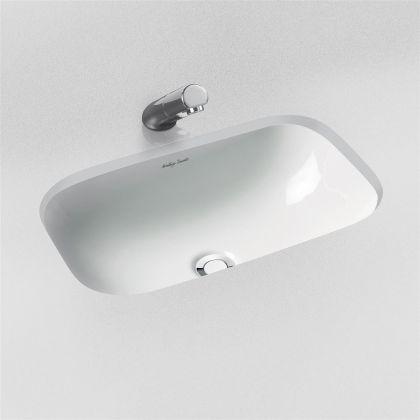 Amitage Shanks Contour 21 50cm Under-Counter Washbasin - without overflow