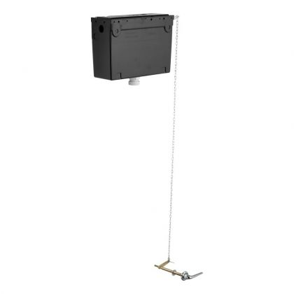 Armitage Shanks Conceala 2 High Level 6 litre Cistern with Chain Pull Lever Flush