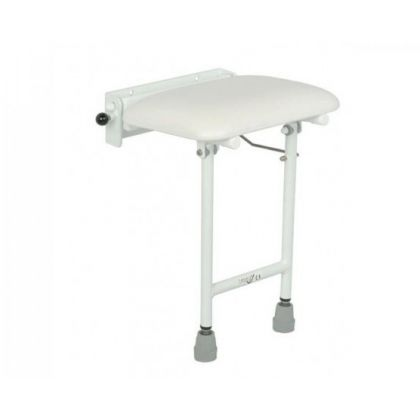 Compact Padded Fold Down Shower Seat