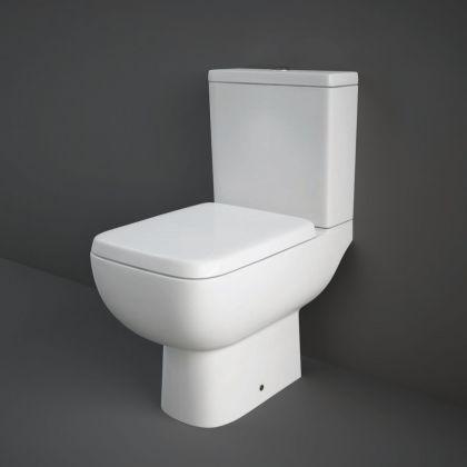 RAK-Series 600 Close Coupled Toilet, Cistern and Soft Close Seat