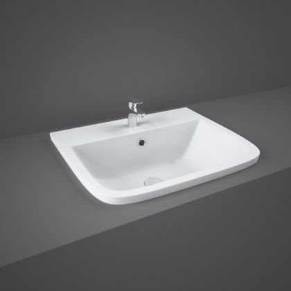 RAK-Series 600 Inset Vanity Bowl with 1 Tap Hole   Commercial Washrooms