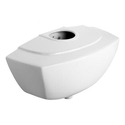 13.6L Armitage Shanks Mura Ceramic Exposed Auto Urinal Cistern