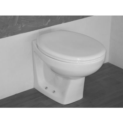 School Height Back to Wall Toilet (355mm High)
