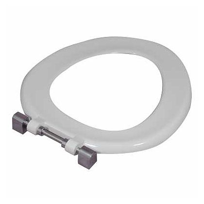 Twyford White Toilet Seat Ring For Sola School 350 Toilet Pan