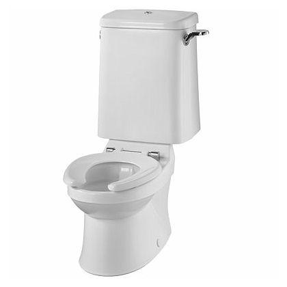 Twyford Sola School Close Coupled Rimless Toilet (300mm high)