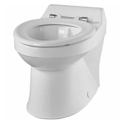 Twyford Sola School Back to Wall Rimless Toilet Pan (350mm high)