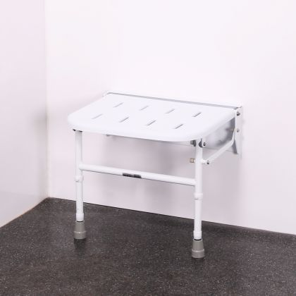 Premium Wall Mounted Shower Seat With Legs