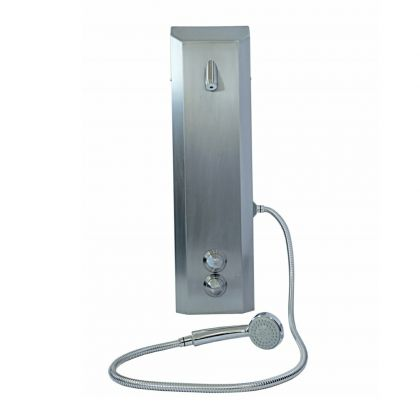 DVS Standard Shower Tower Panel with High Security Showerhead and TMV2