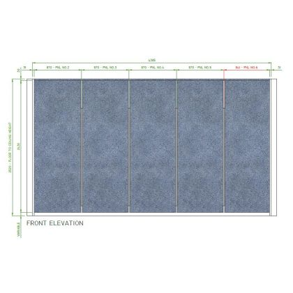 Laminate Wall Panelling System