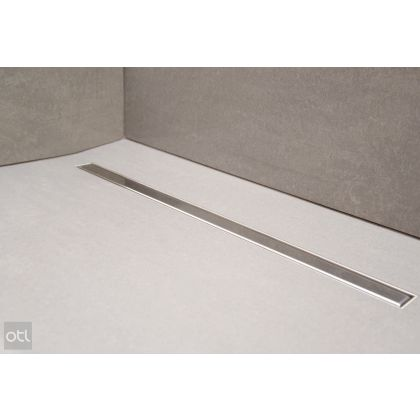 On The Level SuperSlim Tile-In Wet Room Drainage Kit | Stainless Steel | Commercial Washrooms