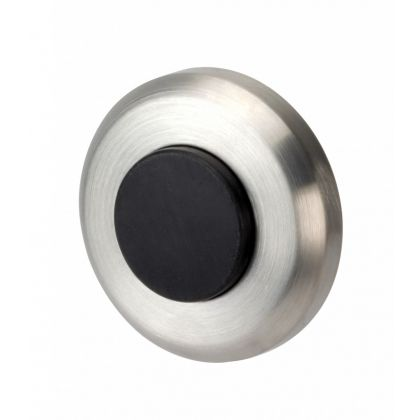 Stainless Steel Wall or Skirting Fix Door Stop Buffer