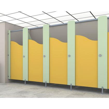 Story Time - MFC Junior School Toilet Cubicles - 5 Between Walls