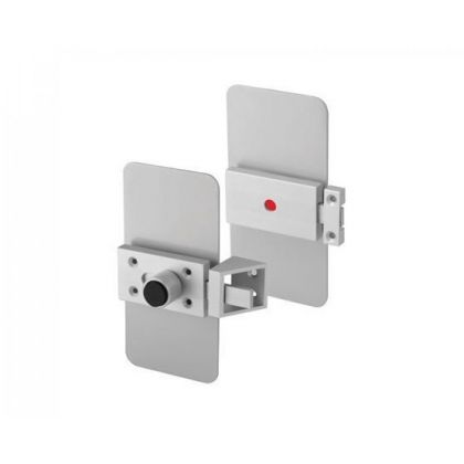 Value Quick Release Toilet Cubicle Lock and Cover Plates - Horizontal or Vertical