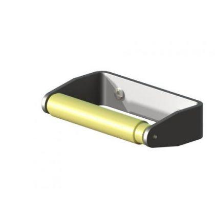 Aluminium Sprung Toilet Roll Holder
